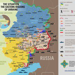 Map of Russian invasion – 1.09.2014