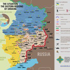 Map of Russian invasion – 18.09.2014