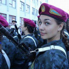 21 girls joined the National Guard of Ukrain (gallery)