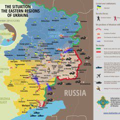 Map of Russian invasion – 2.09.2014