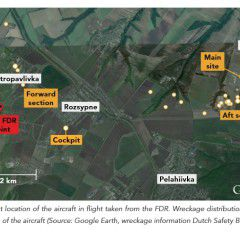 Video explanation of the preliminary report of the causes of the MH17 flight crash
