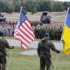 US troops training Ukraine National Guard units in Western Ukraine