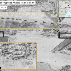 NATO satellite images confirmed Russian invasion of Ukraine
