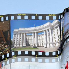 Ukraine's Foreign Minister Klimkin talks with Japan's officials