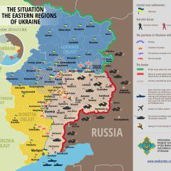 Map of Russian invasion – 10.10.2014