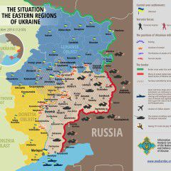 Map of Russian invasion – 03.10.2014