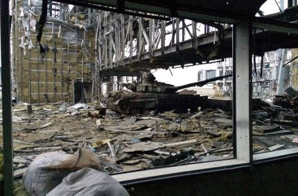 Donetsk airport after the everyday fights (gallery)