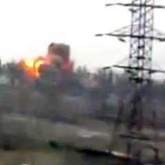 Bombing attack by Russian terrorist at the checkpoint in Mariupol. Video