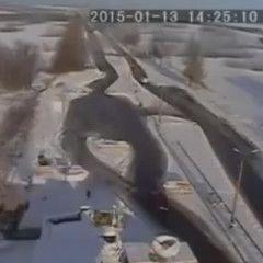 "Russian ""Grad"" shot at civilians in Volnovaha. Video from security camera"