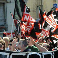 Congress of European Nazi parties in St Petersburg, Russia