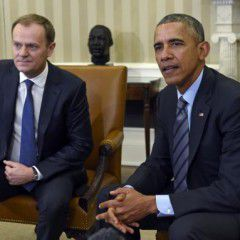 Donald Tusk talked with Barack Obama about the ways how to stop Russian agression to Ukraine