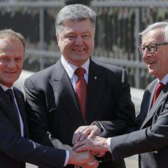 """European Commission President Juncker sees no """"argument"""" for lifting anti-Russian sanctions"""