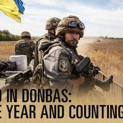 Anti terrorist operation in Ukraine: summary of one year. Infographics