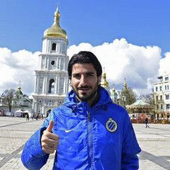 """Belgian FC """"Brugge"""" players created a video about their tour in Kyiv"""