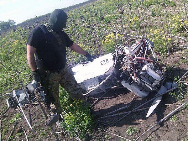 russian drone in ukraine uaposition 4