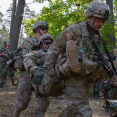 US training on Ukranian National Guard. VIDEO
