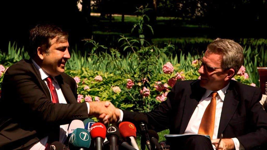 Mikheil Saakashvili_Pyatt_uaposition