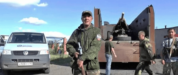 militants trash car ir uaposition