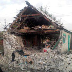6 private houses damaged in attack on Ukraine`s Avdiyivka on Monday