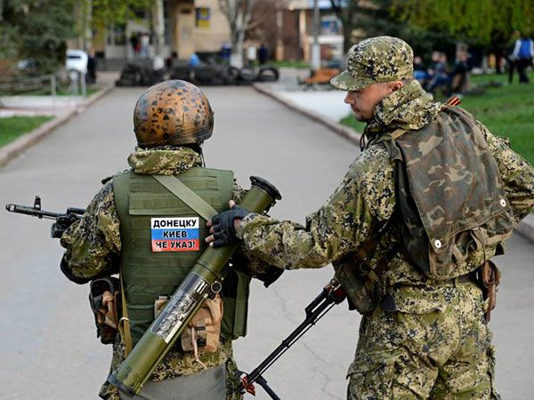 pro russian separatists in ukraine ir uaposition