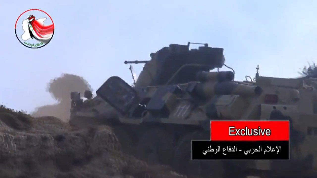 russian BTR-82A