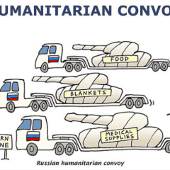 "Another Russian ""humanitarian"" convoy enters occupied Donbas"