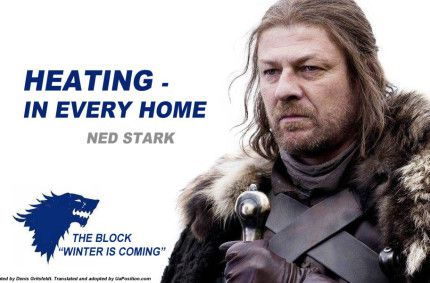 Parody posters featuring 'Game of Thrones' characters dedicated to elections in Ukraine