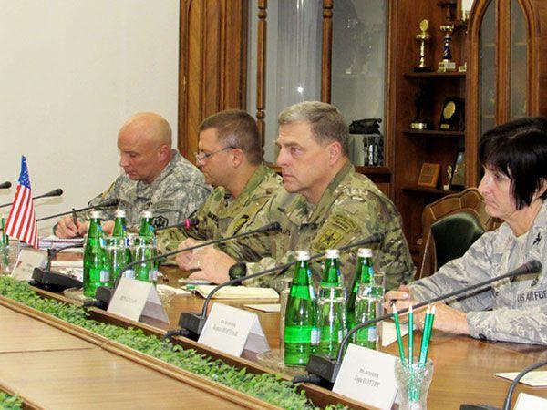 U.S. Army Gen. Mark A. Milley kyiv uaposition