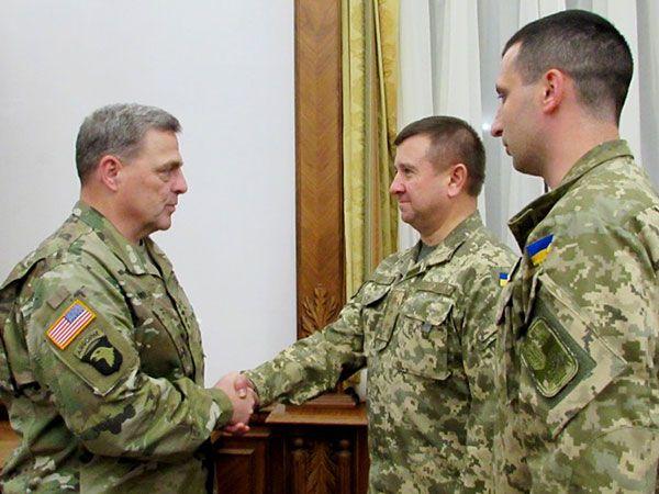 US Army Gen. Mark A. Milley ukraine uaposition