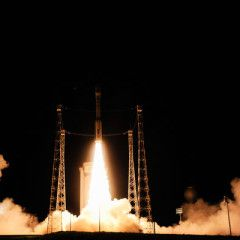 Vega launcher with Ukrainian engine was successfully placed into orbit LISA Pathfinder satellite