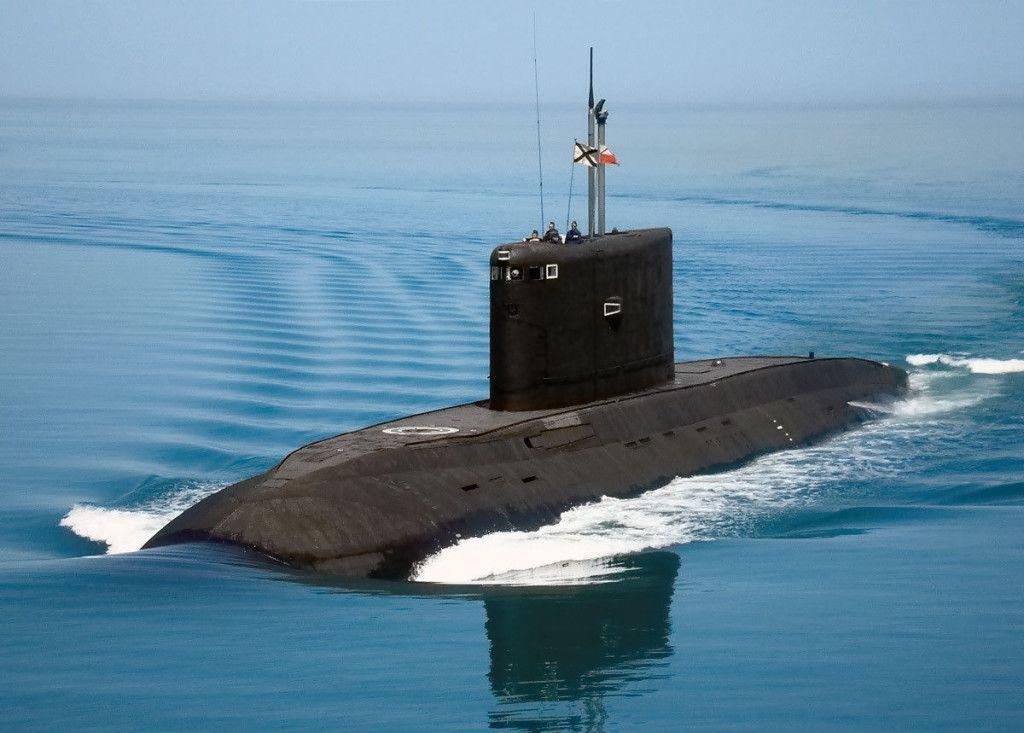 "Russian submarine Kilo class ""Rostov-na-Donu"""