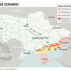 Russian troops preparing offensive to create land corridor to Crimea – NSDC