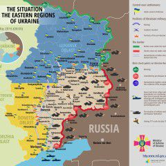 Russian troops use heavy weapons with Avdiyivka being hottest spot
