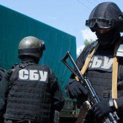 Security Service of Ukraine  arrests nine suspected saboteurs in Odesa
