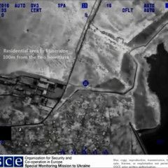 OSCE published video how Russian separatist fired at Ukrainian army by 152mm artillery