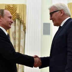 Steinmeier declares European security threat, given Russia`s aggression