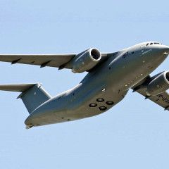 Antonov launches batch production of An-178 aircraft
