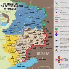 Ukraine reports 48 attacks in Donbas in last 24 hours