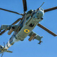 Ukrainian attack helicopter Mi-24PU1 meets all modern warfare requirements – Ukroboronprom (Photo, VIDEO)