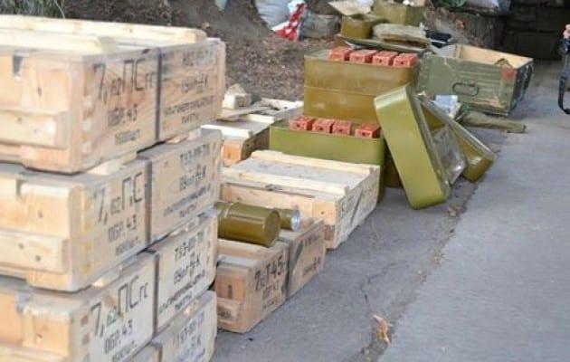 cash russian amunition luhansk boxes uaposition