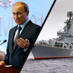 Russia puts Europe on alert as Putin`s warships enter Latvia`s exclusive economic zone in the Baltic Sea