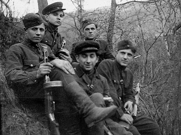 Many Jews fought in the Ukrainian Insurgent Army during World War II