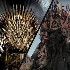"""Game of Thrones"" on Donbas frontline: 600-kilogram throne out of spent munitions was built in Eastern Ukraine"