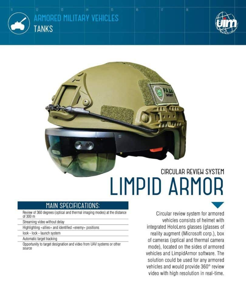 Limpid Armor Specifications