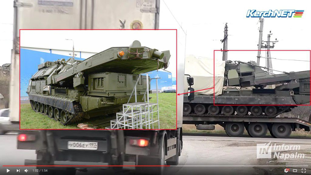 Russian weapon in Crimea - photo