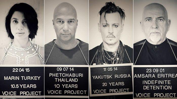 voice project depp nadya morello gabriel - photos