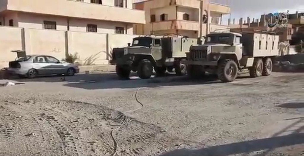 Russia gave a huge number of weapons to the ISIS in Palmyra - photos