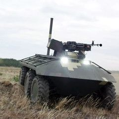 Ukrainian unmanned ground vehicle Phantom demonstrates its combat capabilities