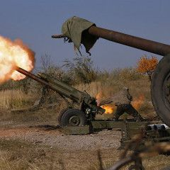 Russian artillery systems in Donbas start to shell at longer distance