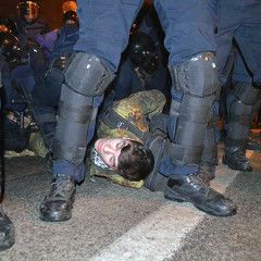 Clashes in Kyiv between protesters and police: at least 10 people injured